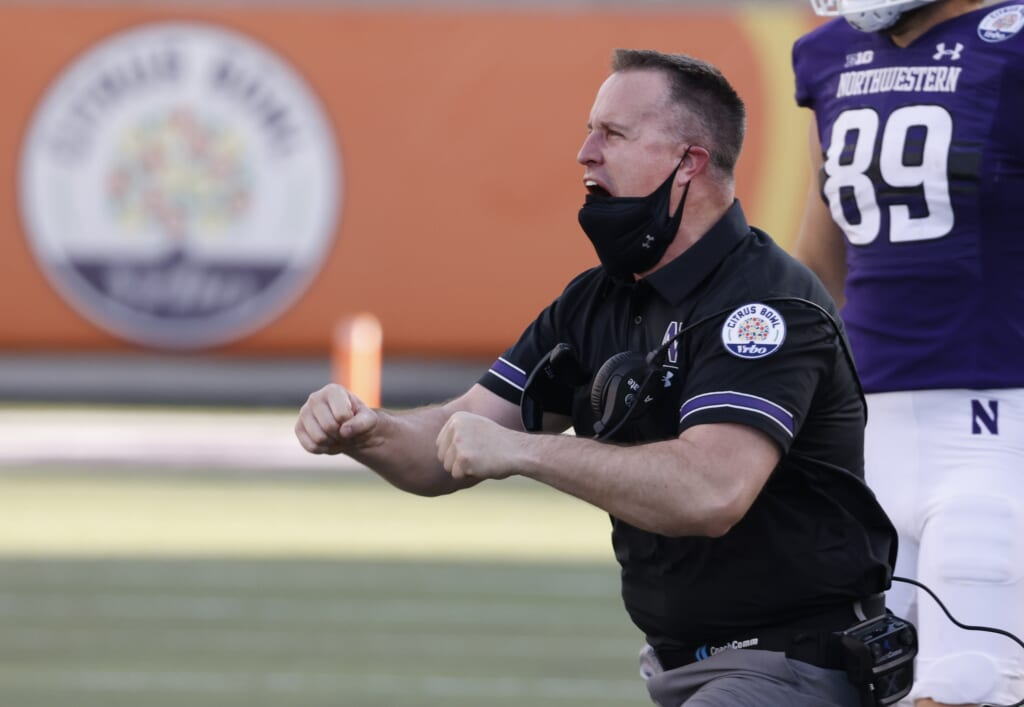 Pat Fitzgerald signs extension with Northwestern.