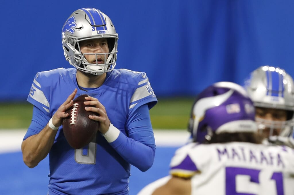 NFL Draft trade: Matthew Stafford to the Jets.