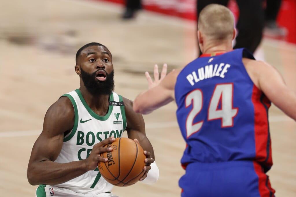 Celtics star Jaylen Brown