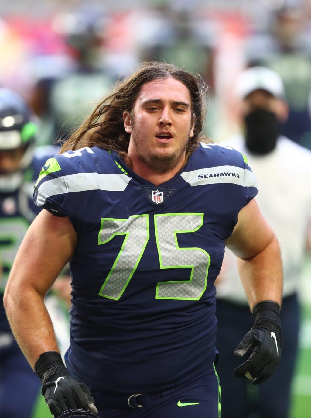 Seahawks' Chad Wheeler arrested