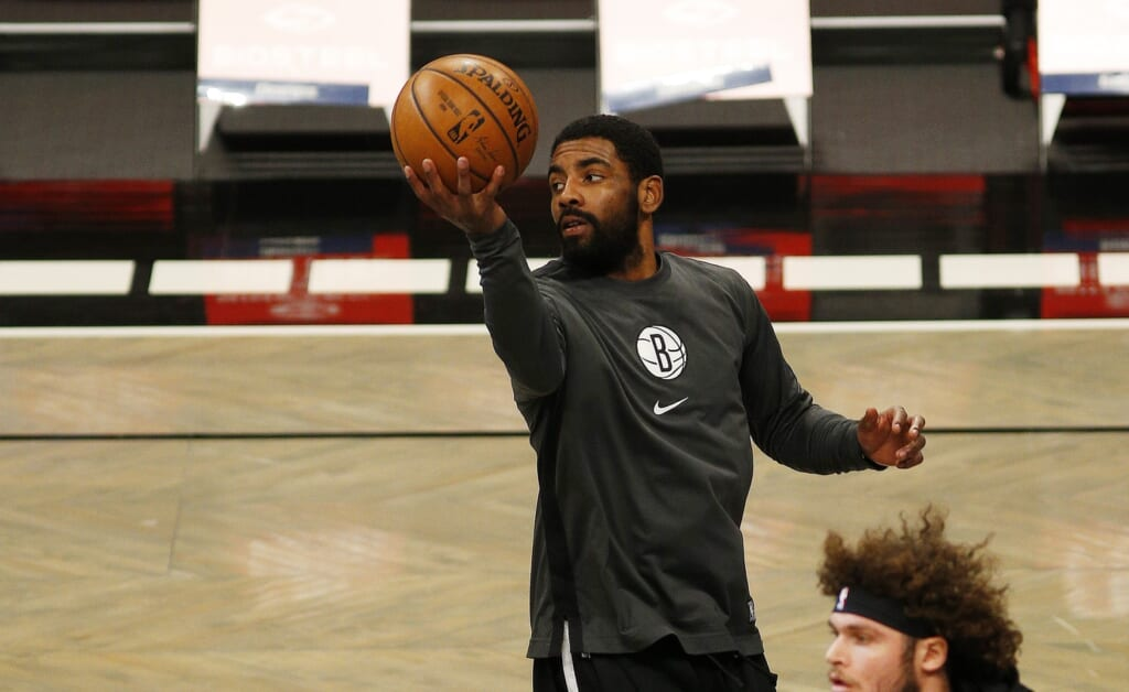 Don't rule out the Brooklyn Nets moving on from Kyrie Irving