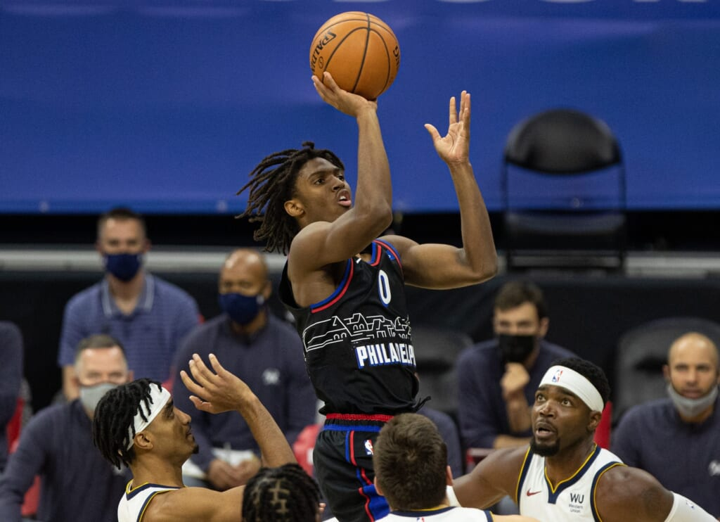 NBA Rookie of the Year: Tyrese Maxey, 76ers