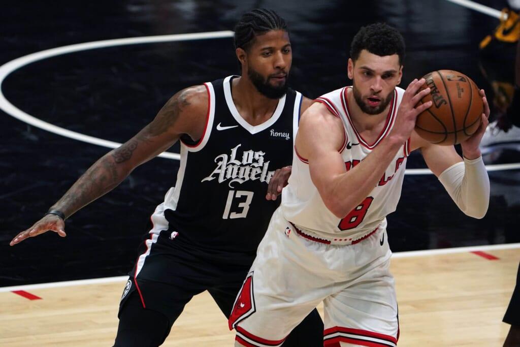 NBA players: Zach Lavine trade