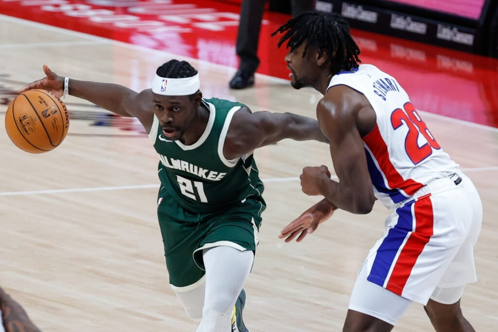 Top NBA players: Jrue Holiday, Milwaukee Bucks
