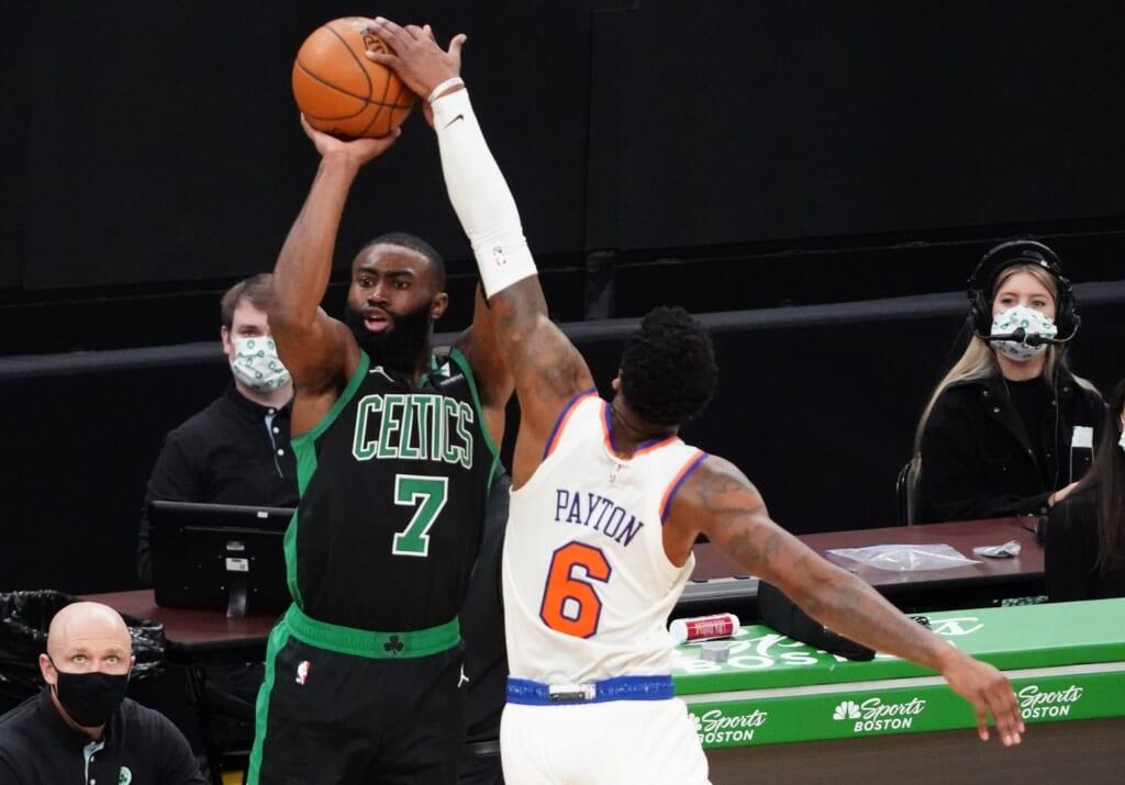 NBA rumors: Celtics included Jaylen Brown in James Harden trade talks