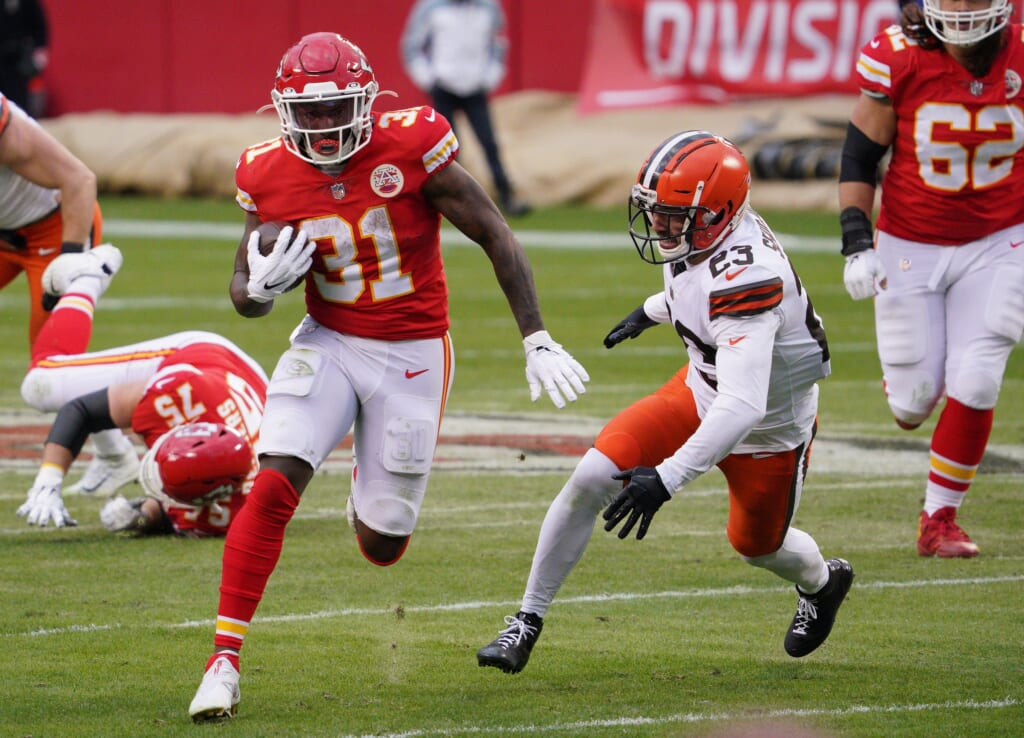 Underrated NFL players: Darrel Williams, Chiefs