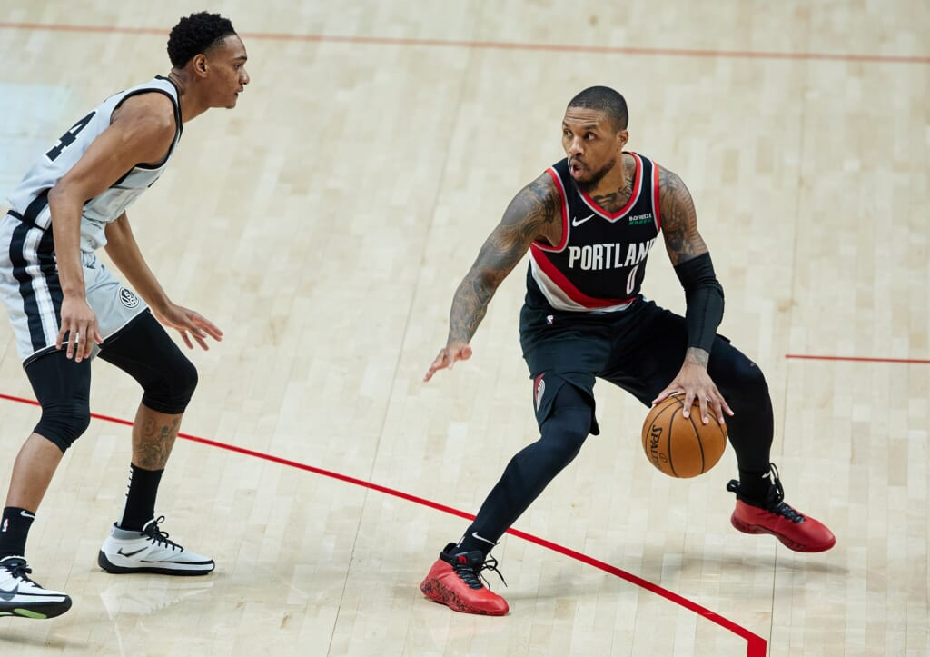 NBA players: Blazers' Damian Lillard