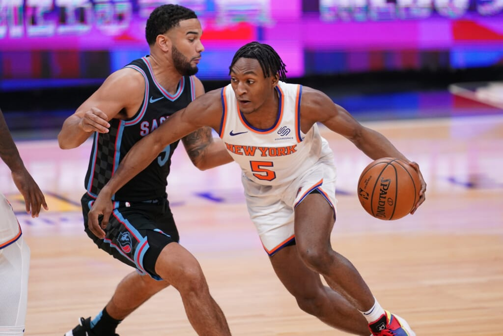 NBA Rookie of the Year: Immanuel Quickley, New York Knicks