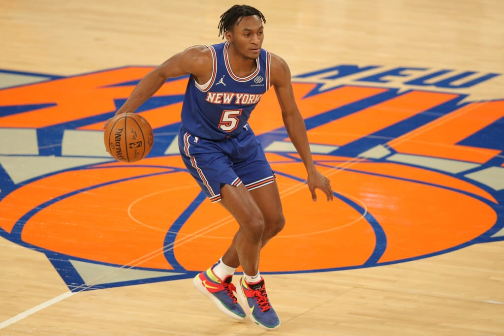 NBA Rookie of the Year: Immnuel Quickley, New York Knicks