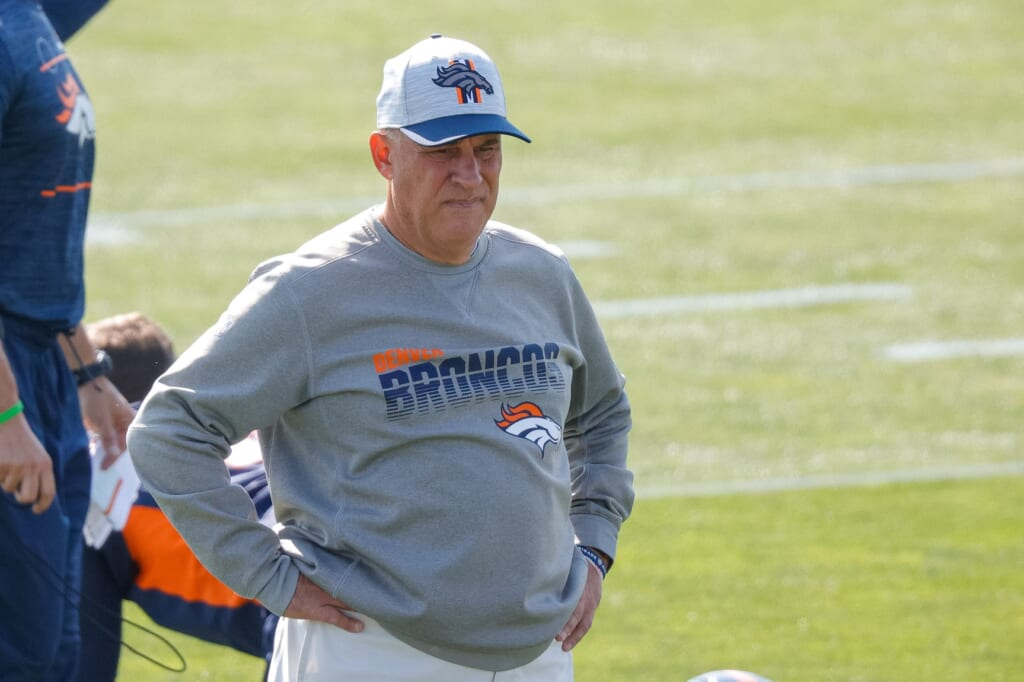 NFL coaches fired, Vic Fangio, NFL coaching hot seat