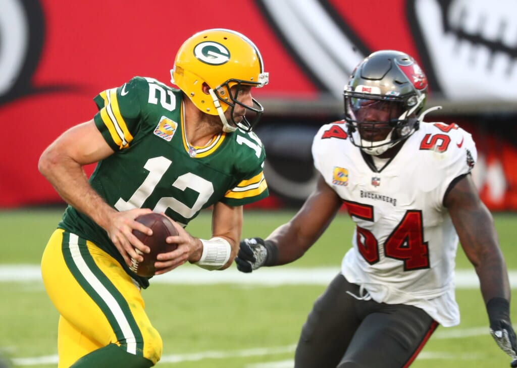 Betting public loves Green Bay Packers vs. Bucs despite prior blowout loss