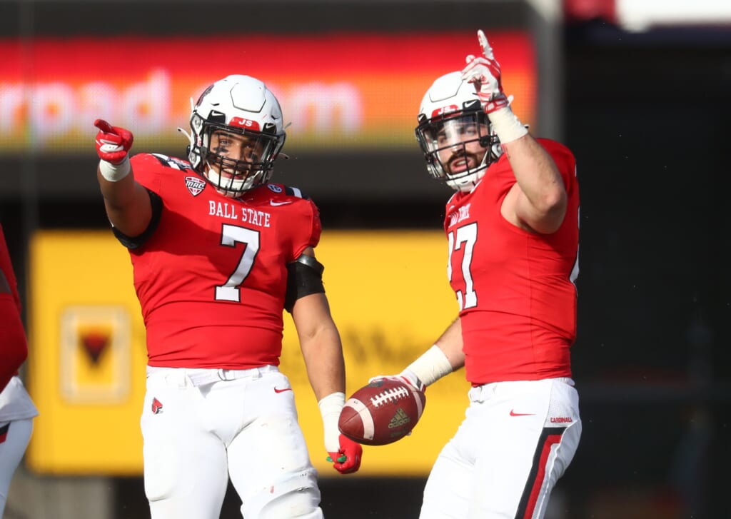 College football rankings: Ball State Cardinals