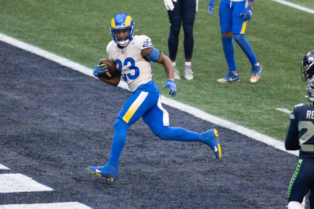2021 NFL Wild Card Day 1 winner: Cam Akers, running back, Los Angeles Rams