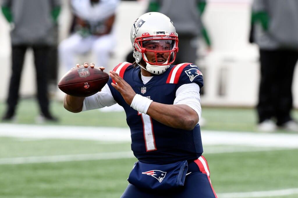 Cam Newton actually had marginal success with New England Patriots