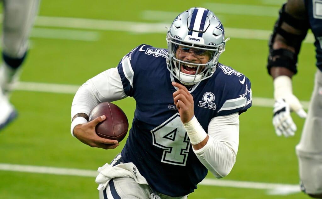 Dallas Cowboys quarterback 2021 options: Dak Prescott