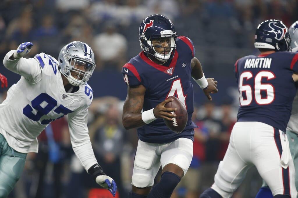 Dallas Cowboys quarterback 2021 options: Deshaun Watson