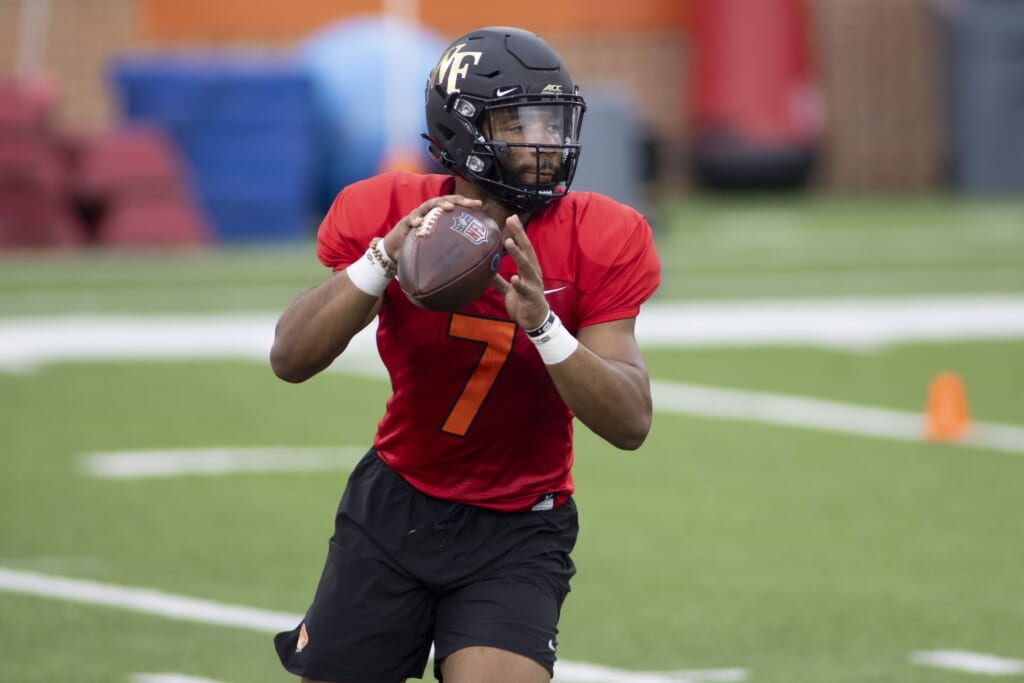 Washington Football Team draft picks: Jamie Newman an appealing developmental QB