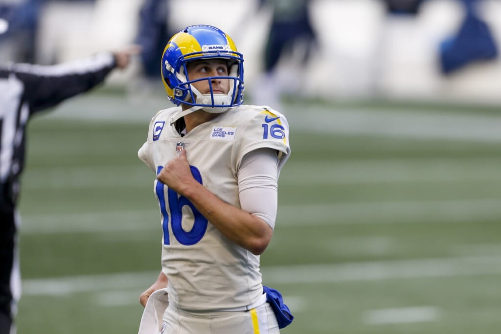 Los Angeles Rams quarterback: Cam Newton over Jared Goff in 2021?