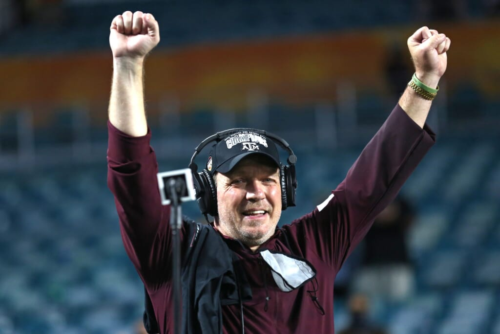 Highest-paid college football coaches: Jimbo Fisher, Texas A&M