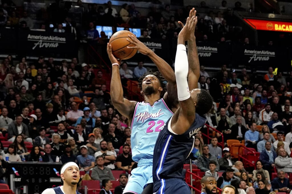 Miami Heat welcome Jimmy Butler back vs. Dallas Mavericks on New Year's Day