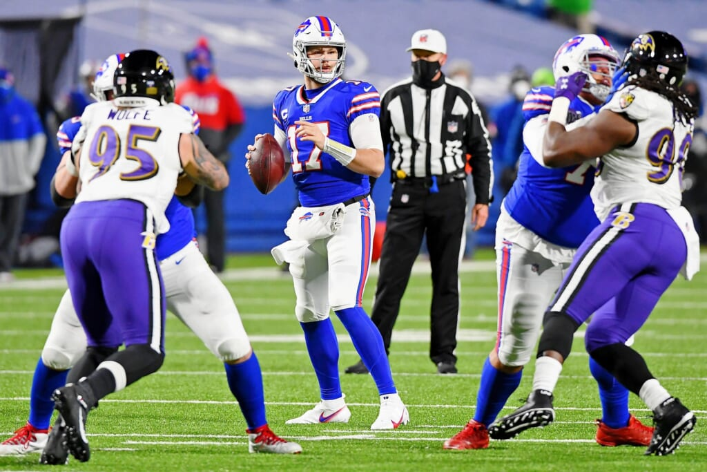 AFC Divisional Round winner: Josh Allen, quarterback, Buffalo Bills