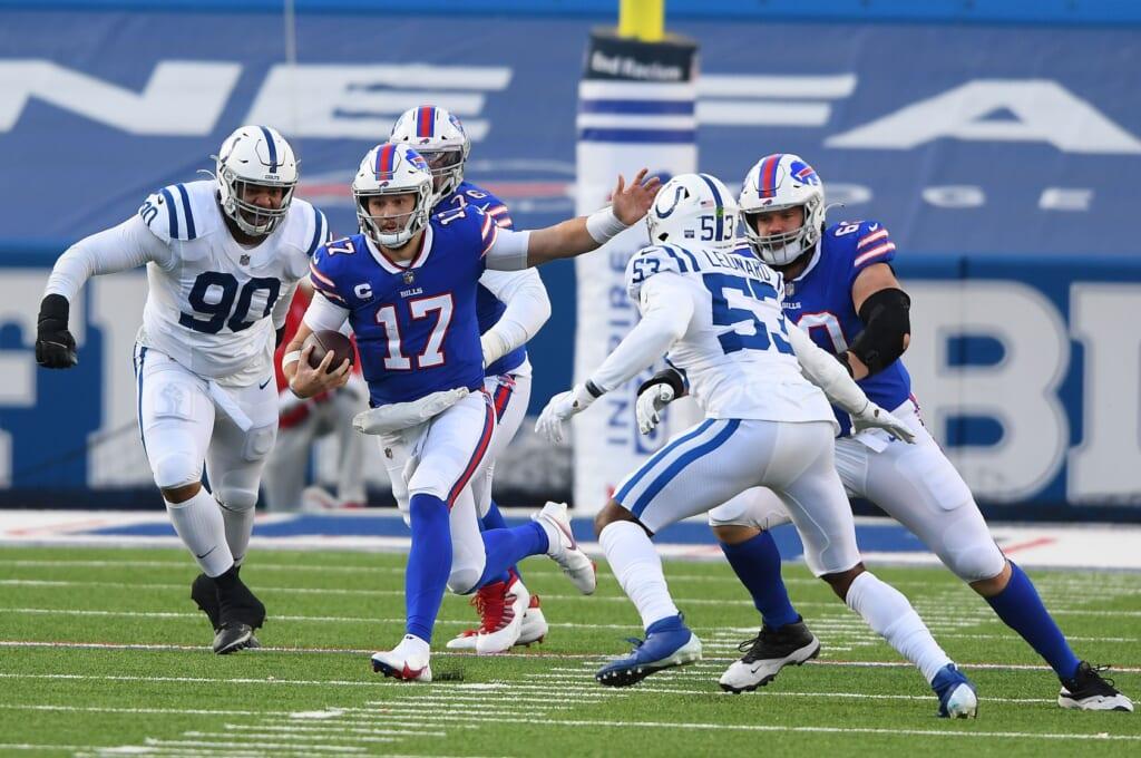 2021 NFL Wild Card Day 1 winner: Josh Allen, quarterback, Buffalo Bills