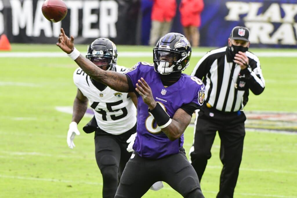Lamar Jackson, Ravens won't soar without an improved passing game
