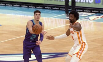 Charlotte Hornets rookie LaMelo Ball youngest to score triple-double in NBA history
