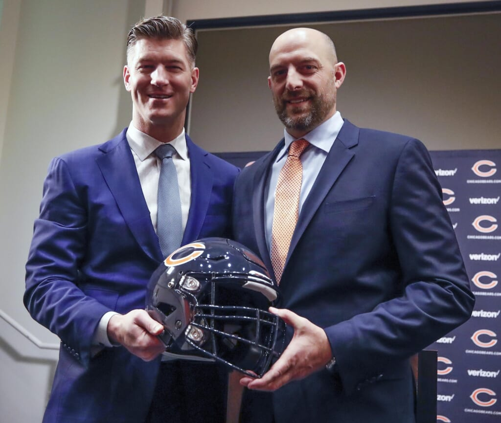 How Matt Nagy, Ryan Pace can redeem themselves for the 2021 Chicago Bears