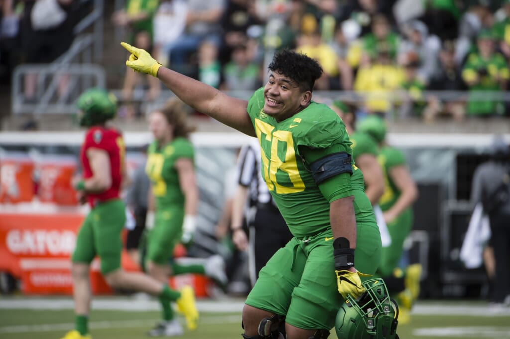 Top 2021 NFL Draft opt-out prospects: Penei Sewell