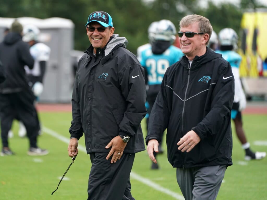 Ron Rivera comments on Washington Football Team front office hires