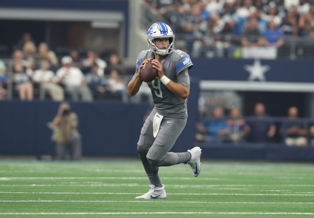 Dallas Cowboys quarterback 2021 options: Matthew Stafford