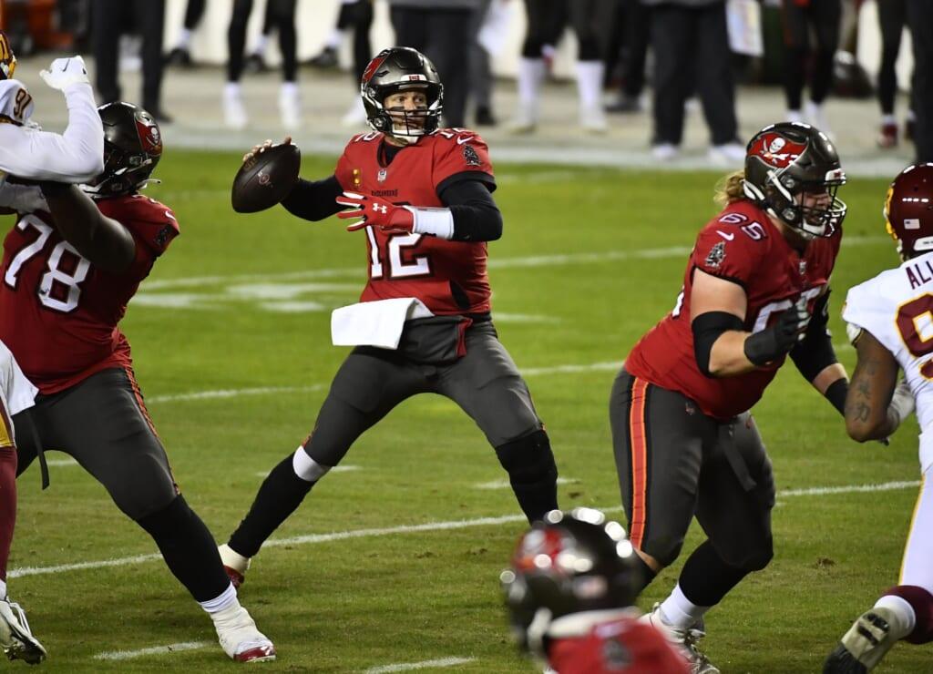 2021 NFL Wild Card Day 1 winner: Tom Brady, quarterback, Tampa Bay Buccaneers