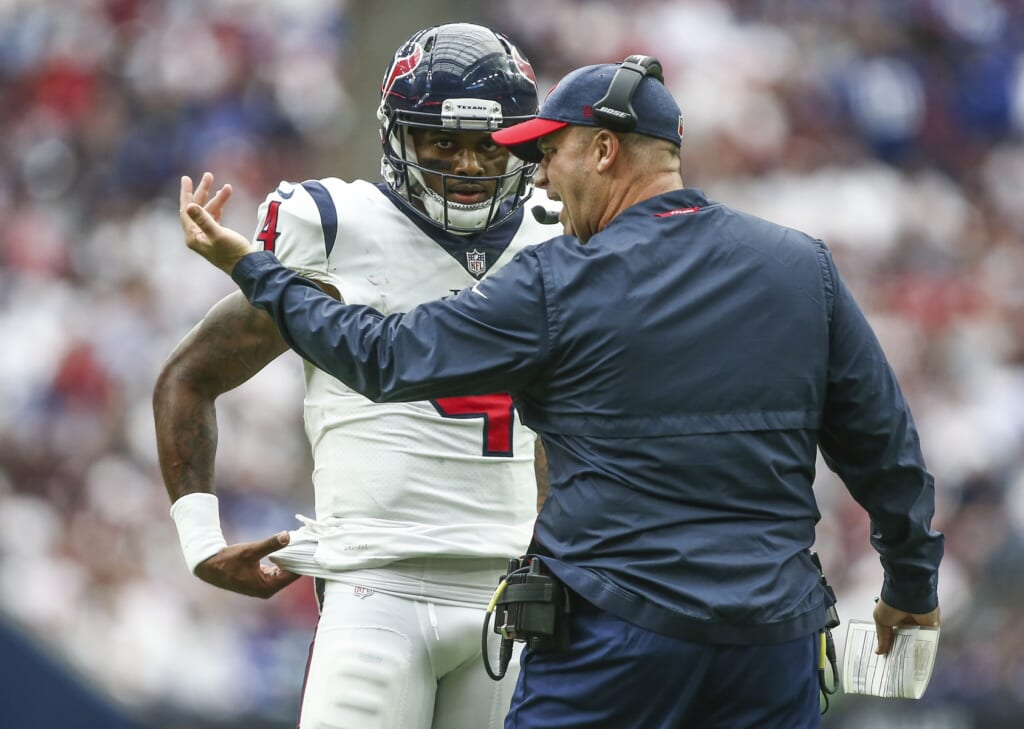 Houston Texans GM Nick Caserio already in over his head