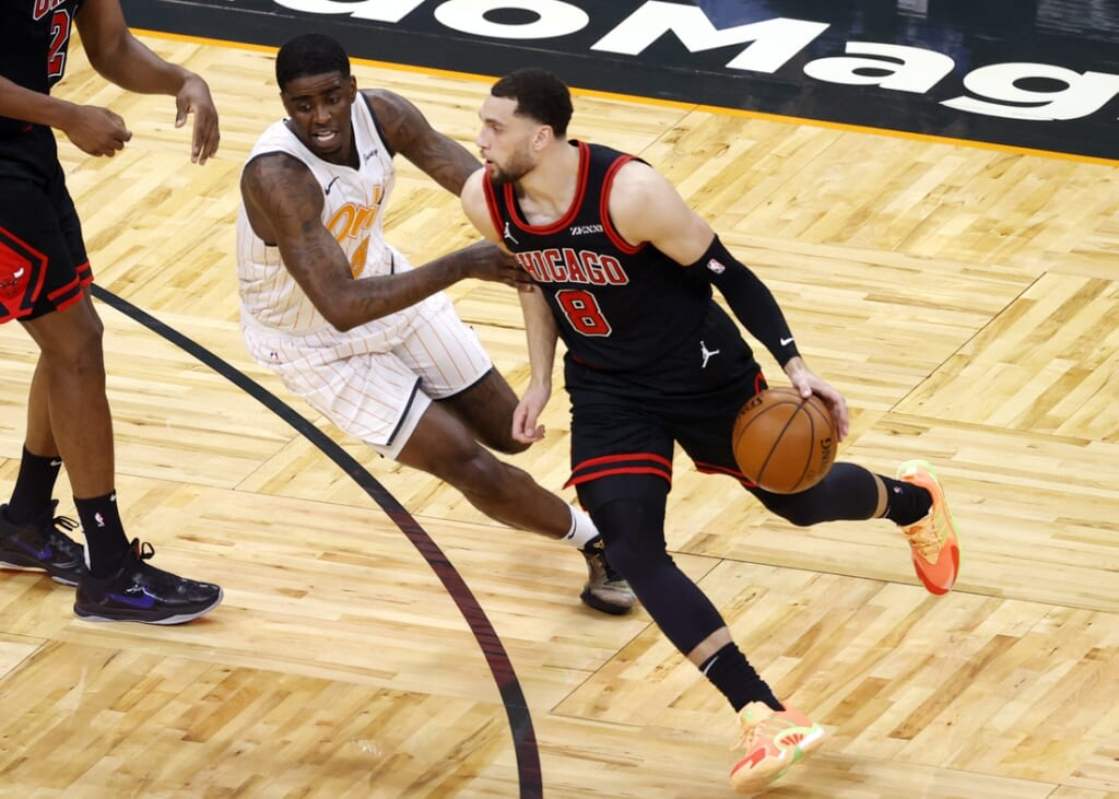 New York Knicks rumors: Zach LaVine trade