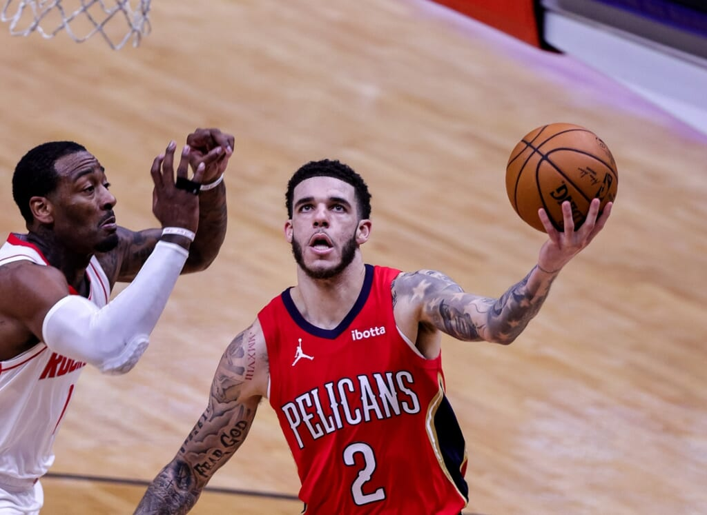 NBA trade deadline: Lonzo Ball, New Orleans Pelicans