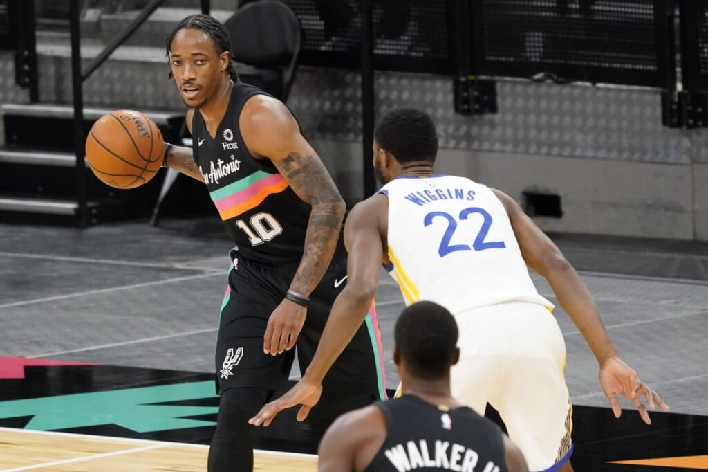 NBA rumors: DeMar DeRozan trade from the Spurs?