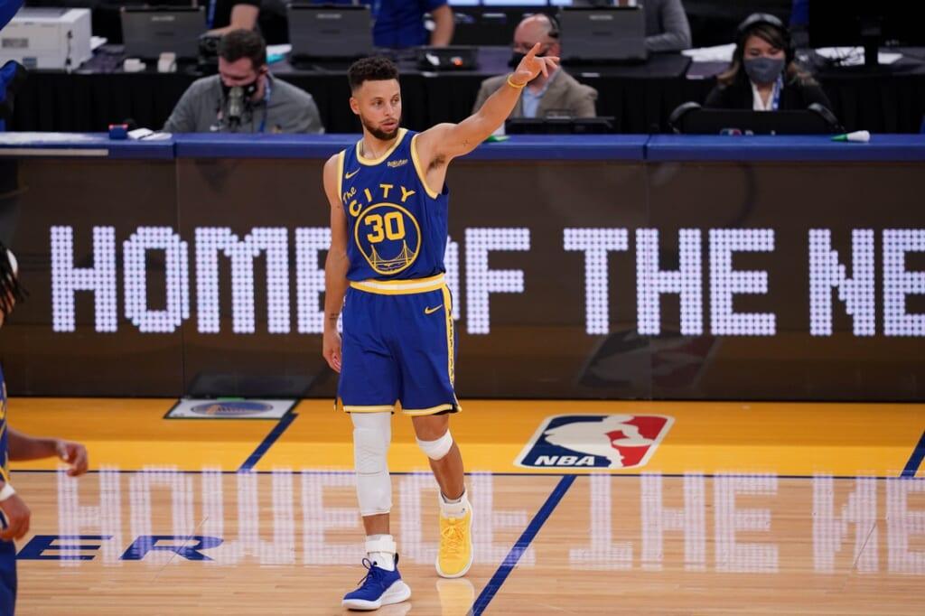 NBA team best performance: Stephen Curry, Golden State Warriors