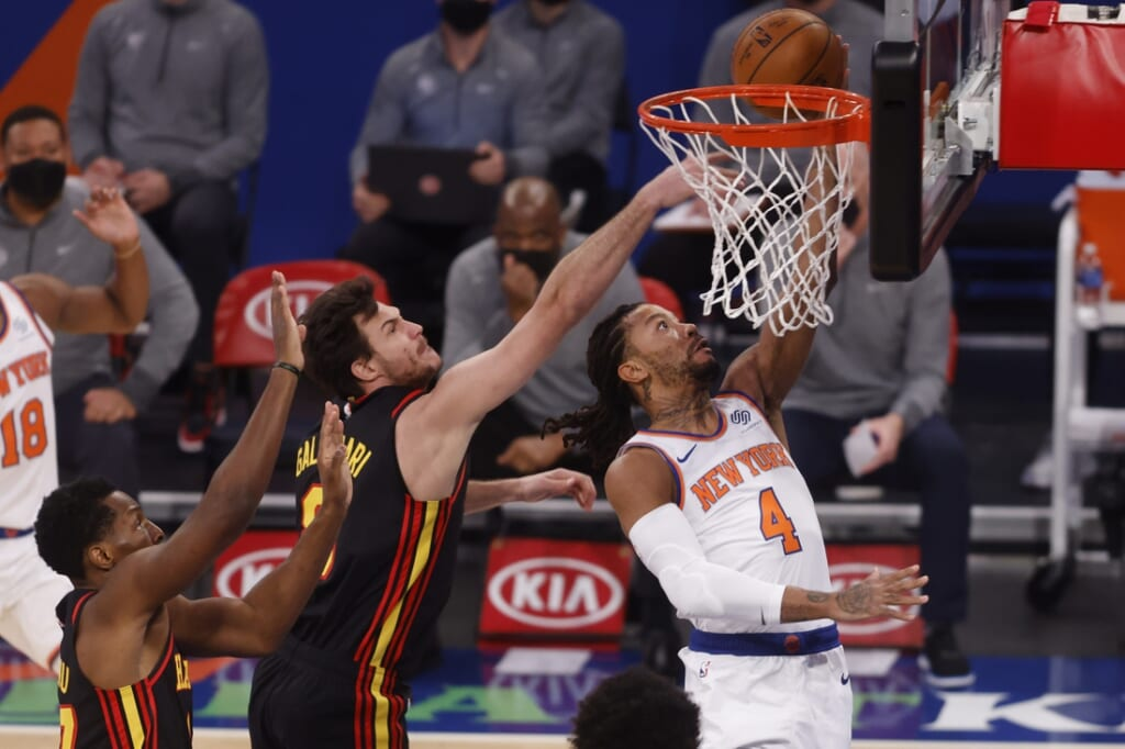 NBA team performance: Danilo Gallinari, Atlanta Hawks