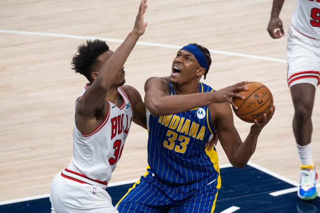 Kristaps Porzingis trade to the Pacers for Myles Turner