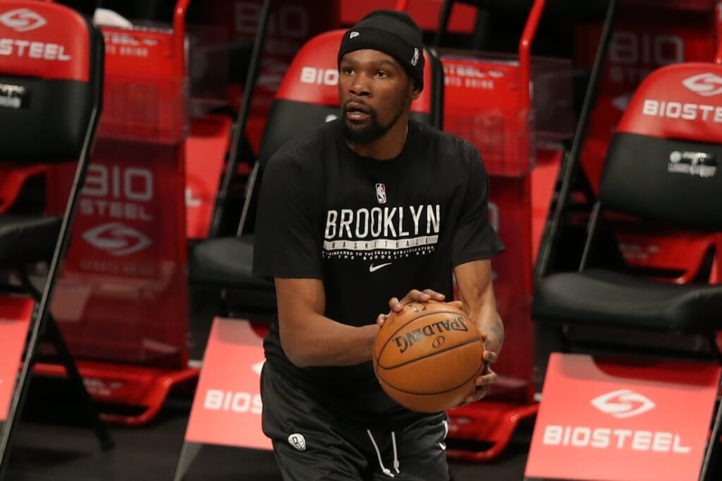 NBA All-Star Game: Team captain Kevin Durant won't play