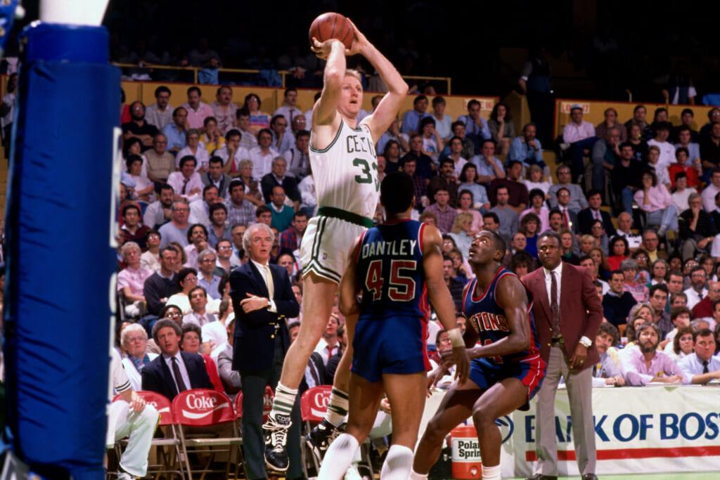 Single-game NBA scoring records: Boston Celtics legend Larry Bird