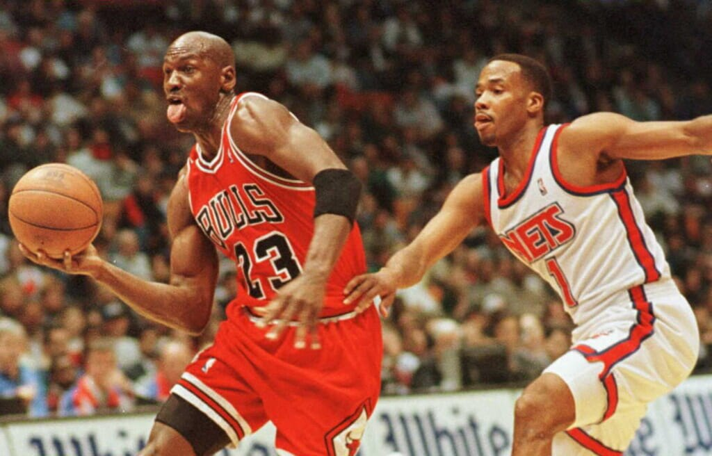 Single-game NBA scoring records: Chicago Bulls' Michael Jordan