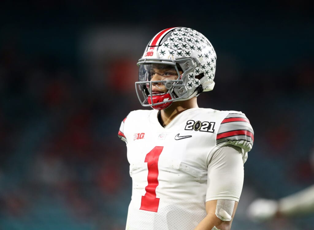 San Francisco 49ers mock draft: Justin Fields, Ohio State