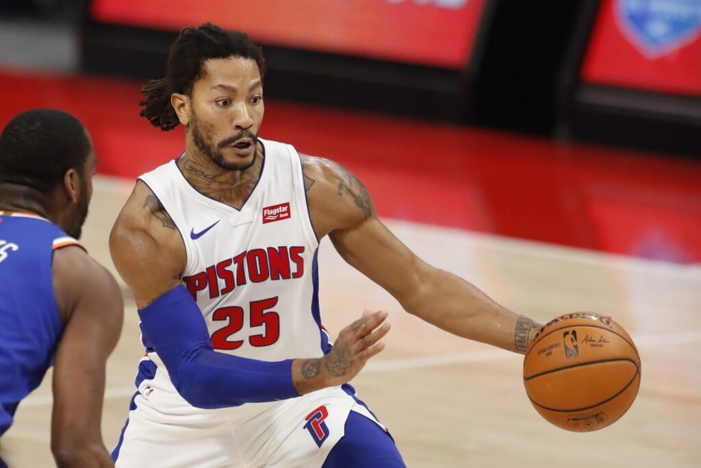 Derrick Rose trade: NBA rumors: New York Knicks
