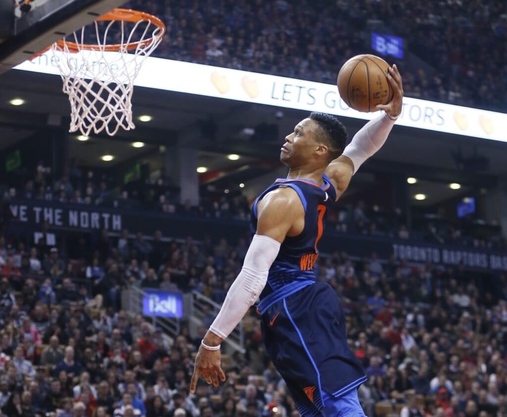 Single-game NBA scoring records: Oklahoma City Thunder, Russell Westbrook