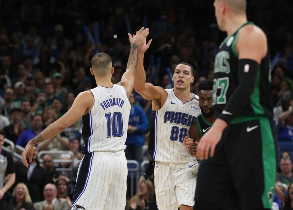 Orlando Magic trade Evan Fournier, Aaron Gordon