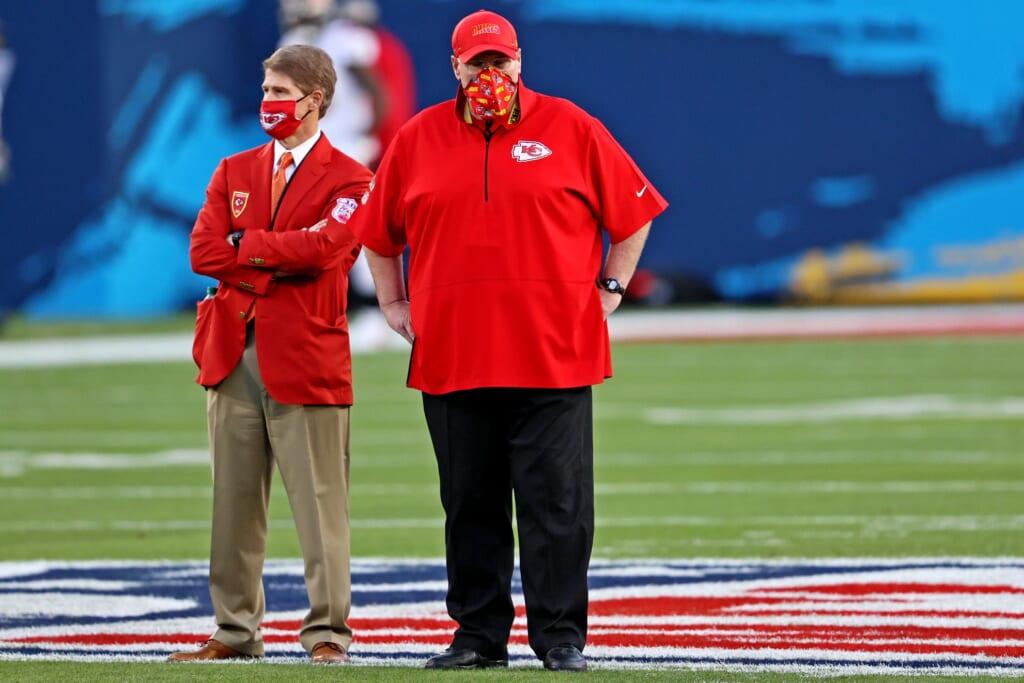 Chiefs head coach Andy Reid, Super Bowl LV