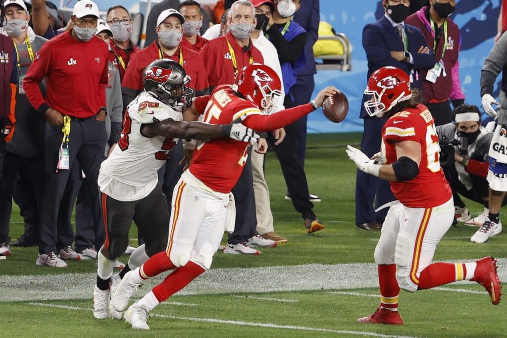 Chiefs QB Patrick Mahomes, Super Bowl LV