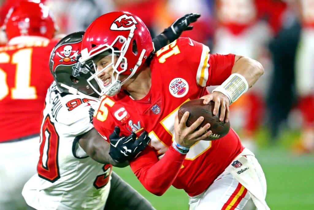 Kansas City Chiefs QB Patrick Mahomes, Super Bowl LV
